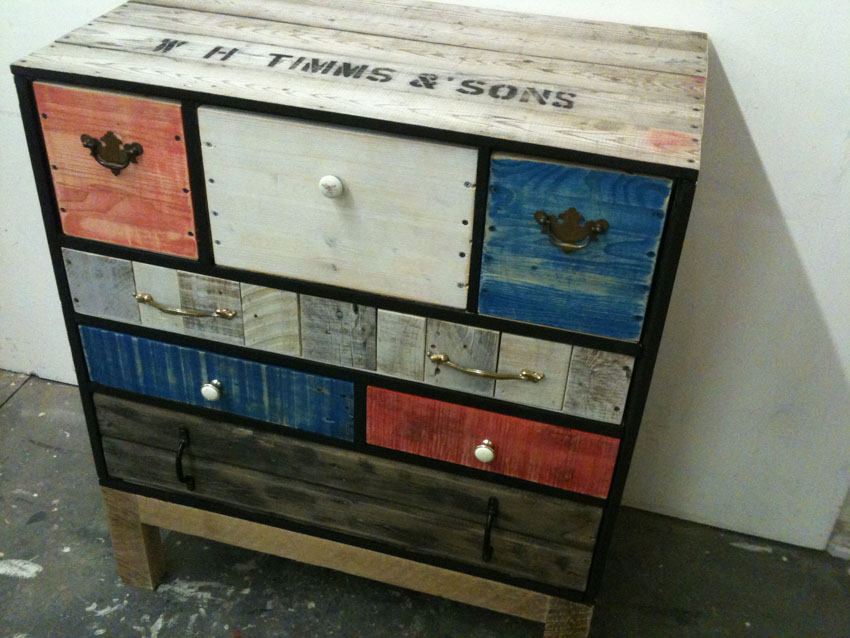 how to build timber drawers