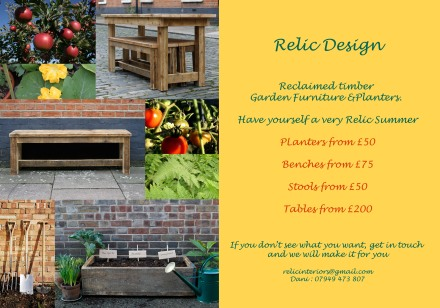 relic garden furniture