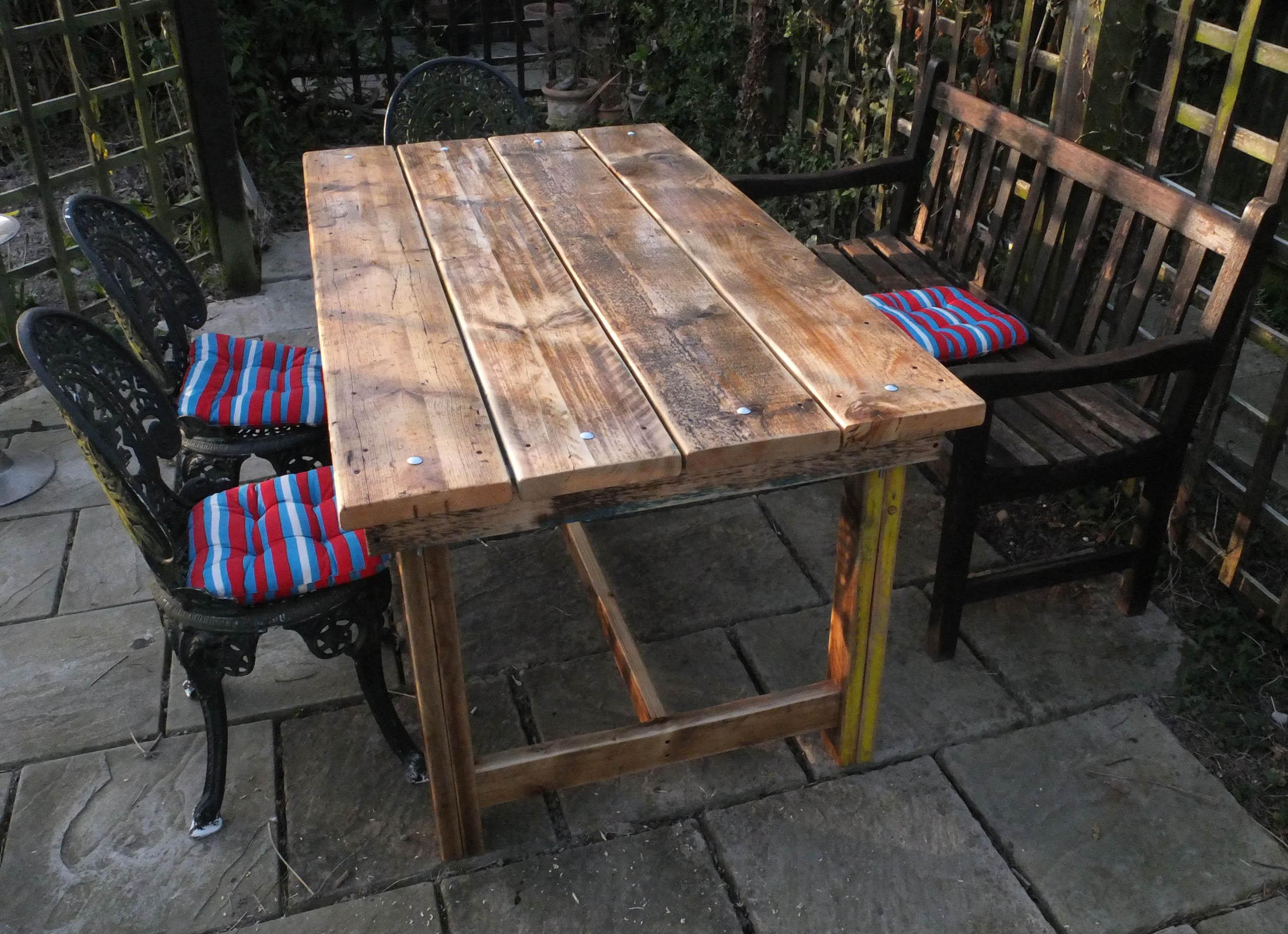 Awesome Backyard Table